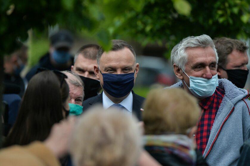 Prezydent Andrzej Duda w Alwerni