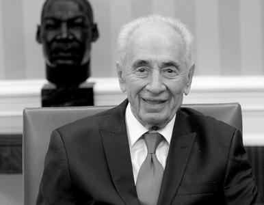 """Prezydent Duda żegna Peresa. """"Wniósł nadzieję do procesu pokojowego na..."""