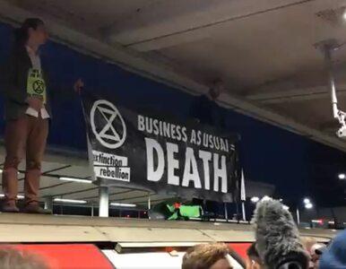 Bójka podczas protestu Extinction Rebellion. Aktywiści blokowali poranny...
