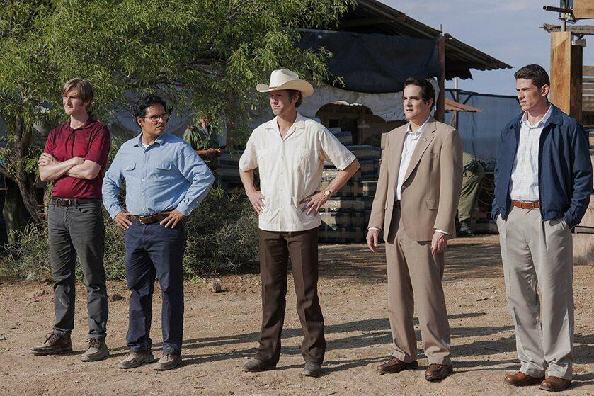 """Zdjęcie z planu serialu """"Narcos: Meksyk"""""""