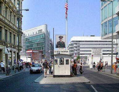 Strzały w centrum Berlina. Sprawca napadł na Starbucksa przy Checkpoint...