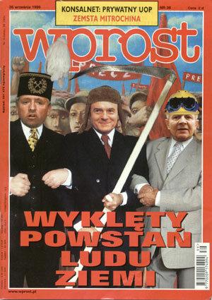 Okładka tygodnika Wprost nr 39/1999 (878)
