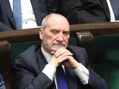 Antoni Macierewicz zadebiutuje w nowej roli. Były szef MON poprowadzi...