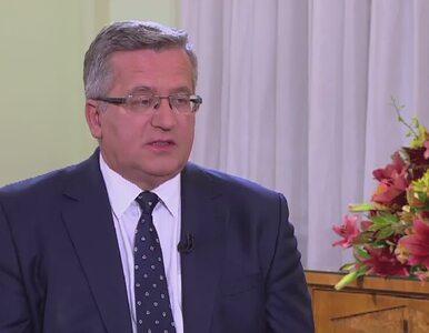 Komorowski o relacji Tuska i Kaczyńskiego: Pojednanie to za duże słowo