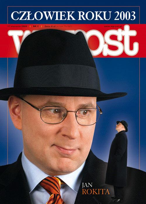 Okładka tygodnika Wprost nr 2/2004 (1102)