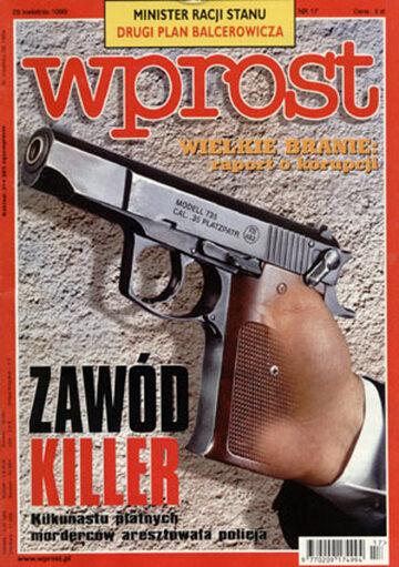 Okładka tygodnika Wprost nr 17/1999 (856)