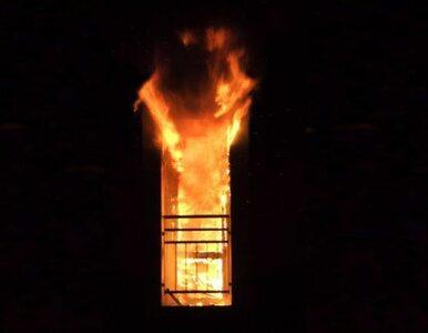 Pościel zapaliła się od pieca? 75-latek nie żyje