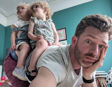 Bloger przyznał, że nie rozróżnia swoich córek. Zalała go fala hejtu
