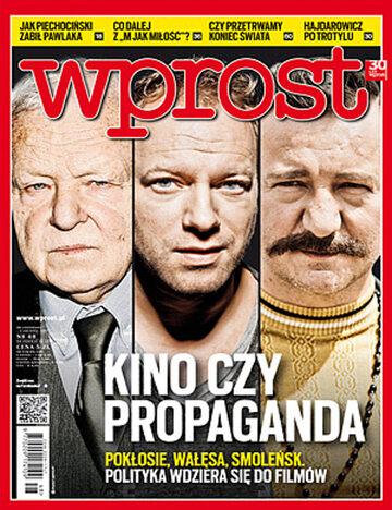 Okładka tygodnika Wprost nr 48/2012 (1554)